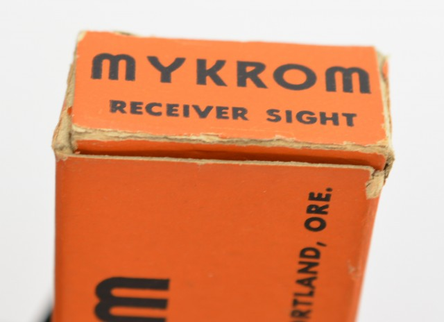 Mykrom Type 1 Scope Mount + Peep Sight