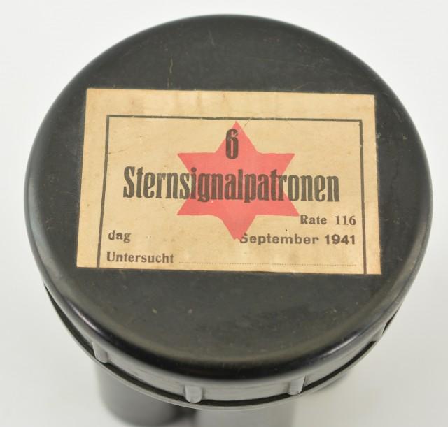 World War II German Flare Container