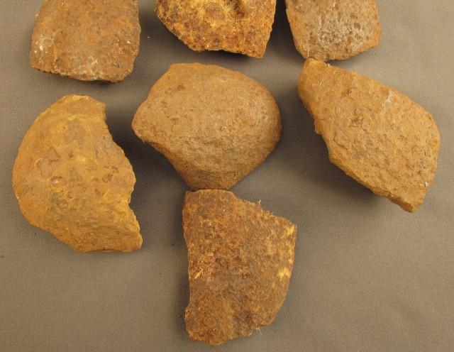 Civil War Shell Fragments