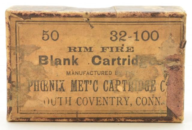 Phoenix Metallic Cartridge Co .32 RF Blanks