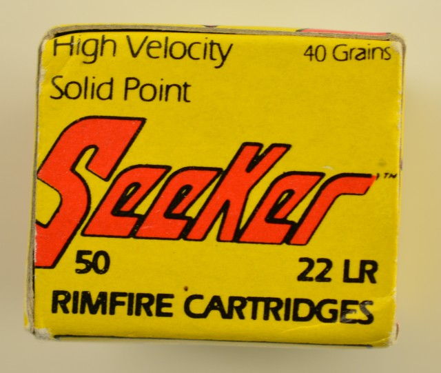 Seeker 22 LR Ammo