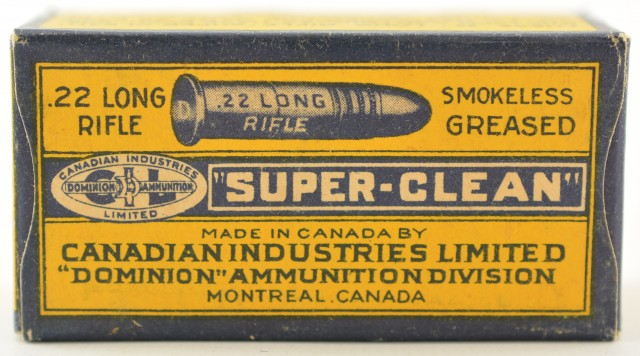 CIL Canadian Government 22 LR Box