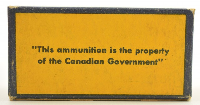 CIL Canadian Government 22 LR Box 1945-1950