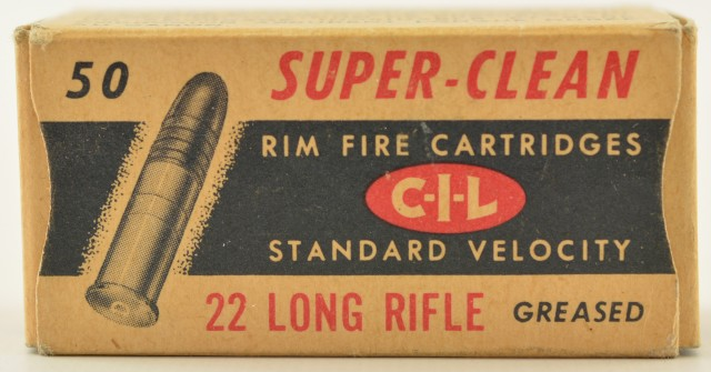 CIL Canadian Gov 22 LR 1957 Box
