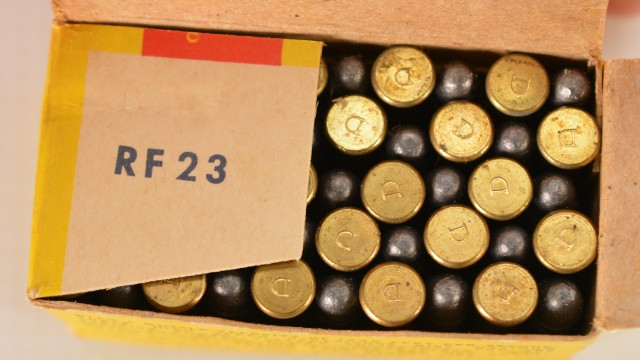 CIL Whiz Bang 22 LR 1957 Issue Box