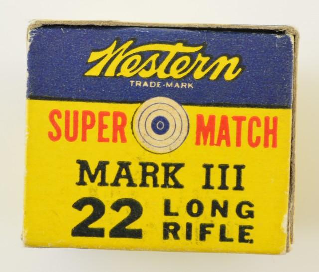 Western Super Match Mark III Side Code Box