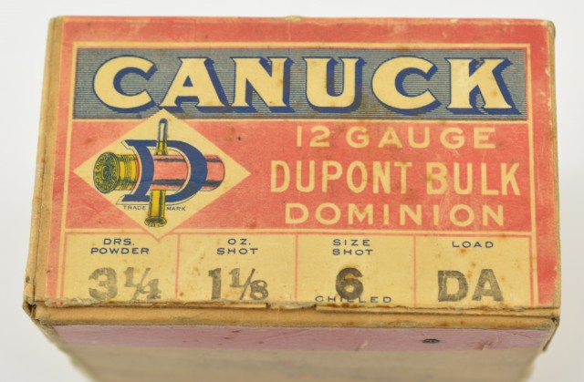 1924 Dominion Canuck 12 GA Shotshell