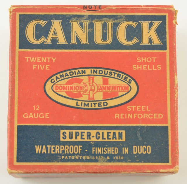 1946 Canuck Shotshell Box