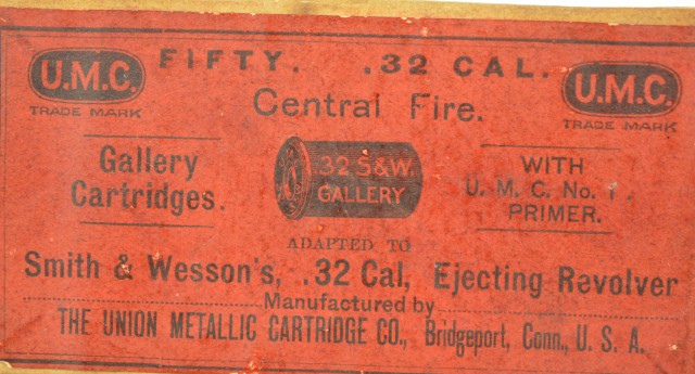 1890s UMC Gallery Ammo 32 Smith & Wesson