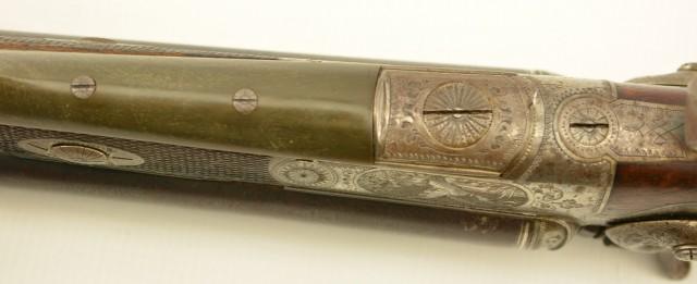 Antique German 16 bore Double Gun by Albrecht