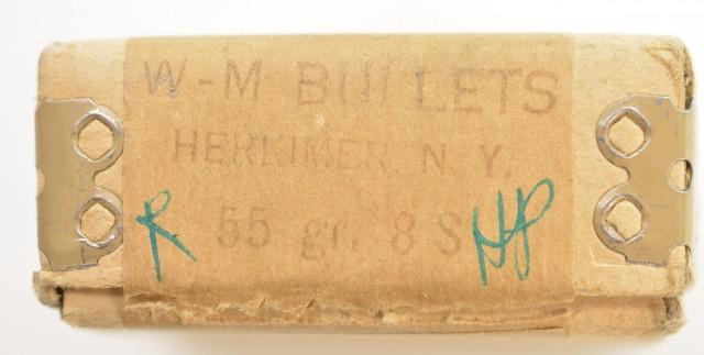Wotkyns-Morse .223 Bullets