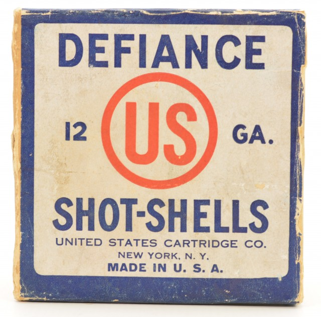 US Cartridge Co Defiance Shell Box