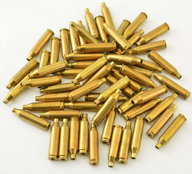 Lot of 228 Ackley Brass 58 Pieces Reloading Ammo