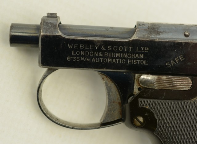 Webley and Scott Vest Pocket Pistol 1912