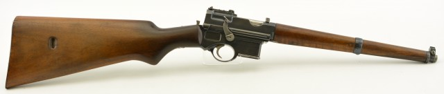 Mannlicher Model 1901 Self-Loading Carbine