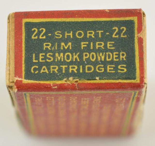 Clinton Lesmok 22 Short Rimfire Ammo