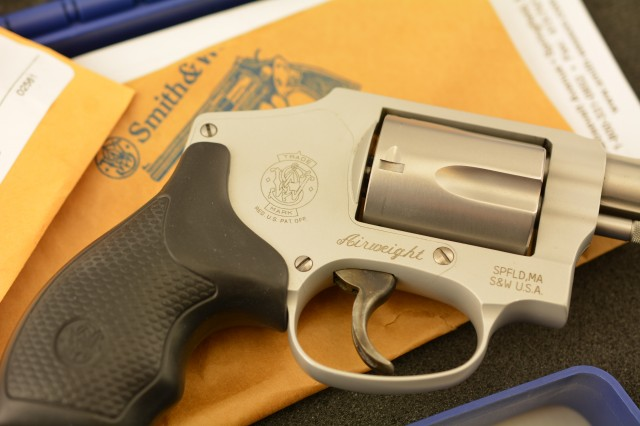 Smith and Wesson 642-2 Airweight Revolver CCW