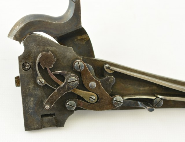 Antique British Greene Carbine Lock Mechanism