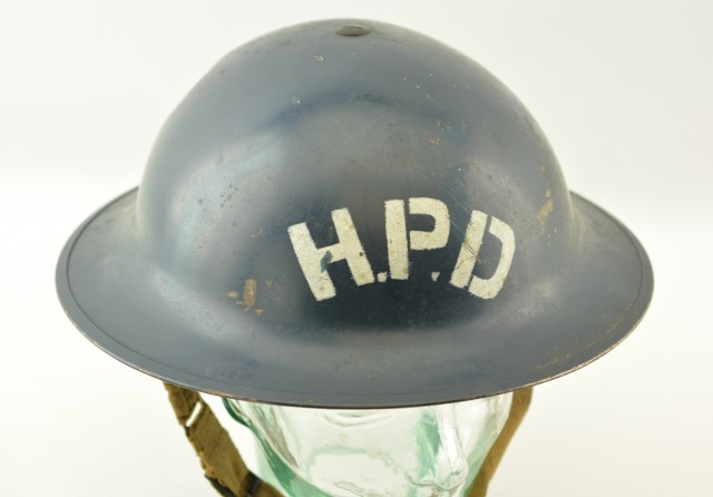 World War II Halifax Police Mk.2 Brodie Helmet