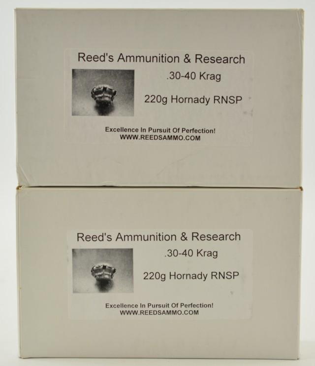 Reed's Ammunition 30-40 Krag Ammo 40 Rnds