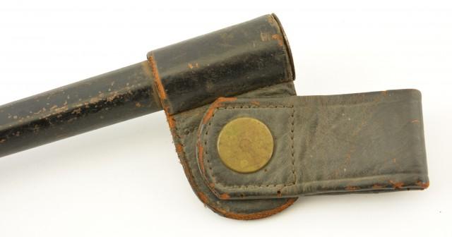 Trapdoor Bayonet In Blank Rosette Scabbard