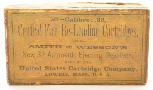 US Cartridge Co Calibre 32 Central Fire Reloading Cartridges