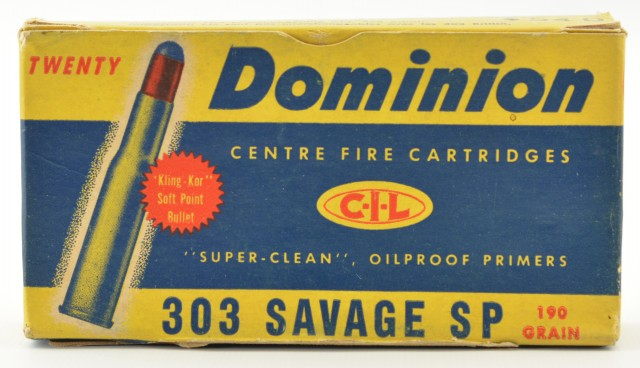 Dominion 303 Savage Soft Point Ammo