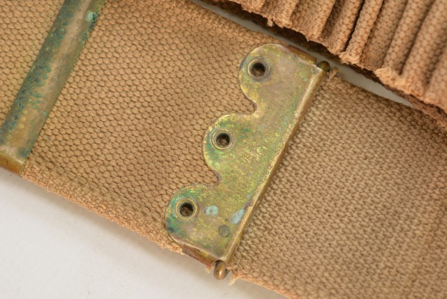 Mills Double Loop Cartridge Belt With Mass Buckle