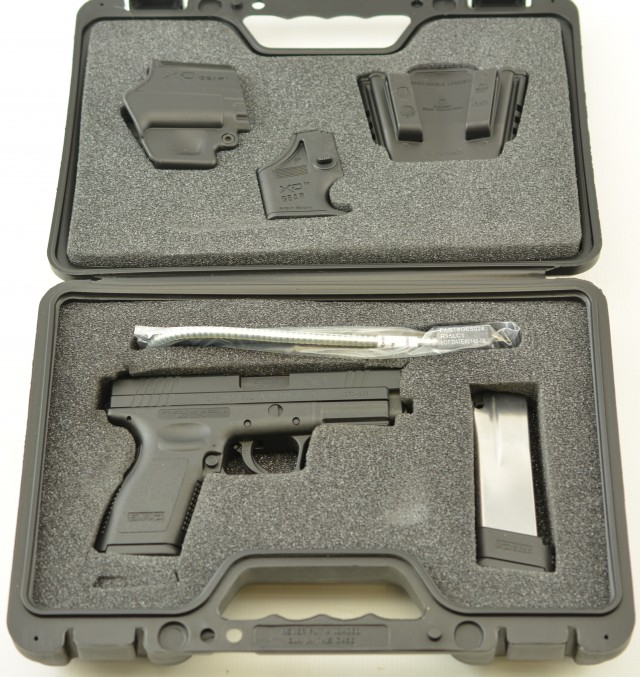 Springfield Armory XD-45 4 Inch Pistol With Kit in Box