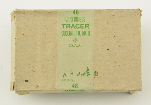 WW2 303 British Tracer In Original 1943 Boxes