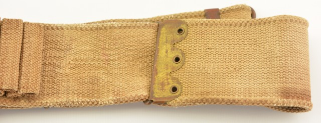 Mills Double Loop 30-40 Krag Cartridge Belt