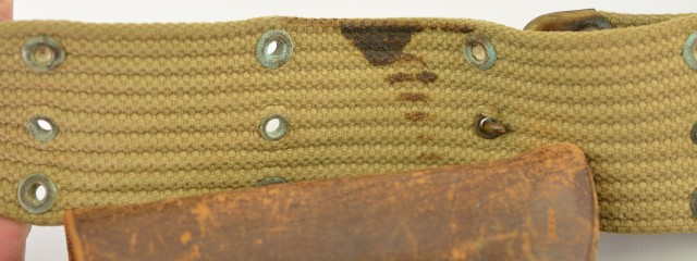 WWI M1916 Holster Perkins Cambell Dated 1917 USGI 45