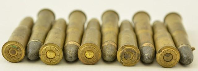 Austrian 11.15x58R Werndl or Mannlicher Rifle Ammunition & 2 Stripper