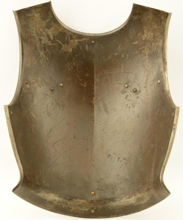 Antique French Cavalry Cuirassier Breastplate (Second Empire)