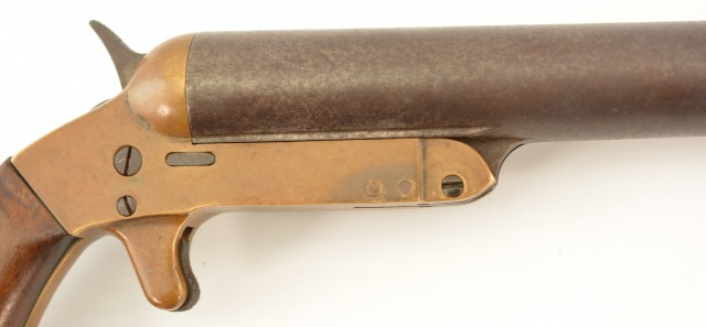 US Navy Remington Flare Gun Marked for New York Navy Yard