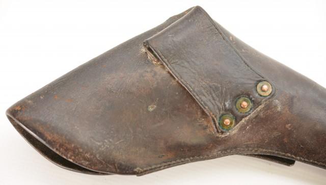 Colt Model 1851 or 1860 Leather Holster U.S. Non Regulation