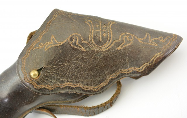 Smith & Wesson No 1 ½ Period Leather Holster Circa 1865-1870