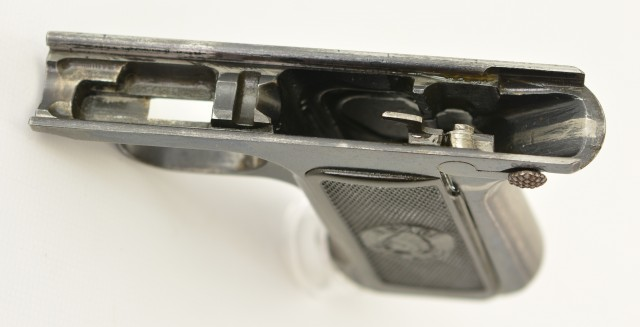 Savage Model 1907 Pistol Frame and Grips