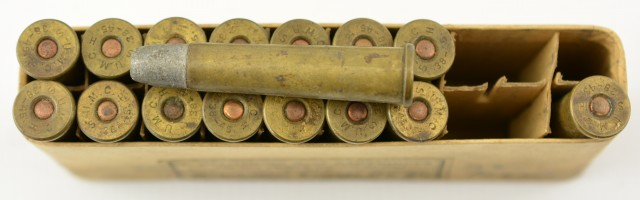 Winchester Ammo Box 38-45 Bullard Cartridges