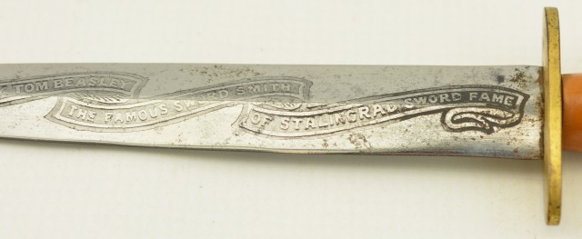 Early Wilkinson Three-Banner Commando Knife