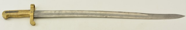 U.S. Navy 1861 Plymouth Rifle Saber Bayonet