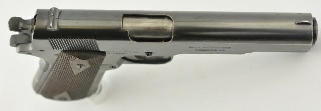Colt Model 1911 Pistol 45 Auto Commercial 1917