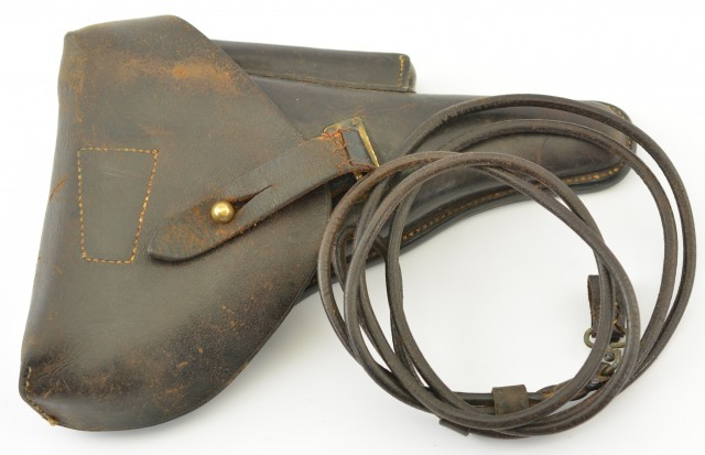 Portuguese Luger Holster and Lanyard
