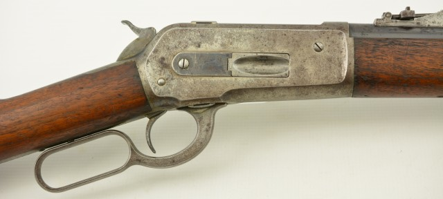 Rare Winchester Special Order Model 1886 Musket in .45-90