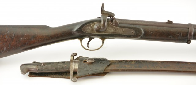 British P.1856 Artillery Carbine (Lower Canada Marked)