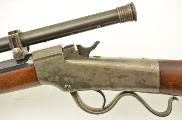 Marlin Ballard No. 4 Rifle with Mogg Scope & Kent Muzzle Venting 32-40