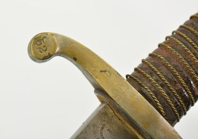 US Model 1840 Roby Light Artillery Sword
