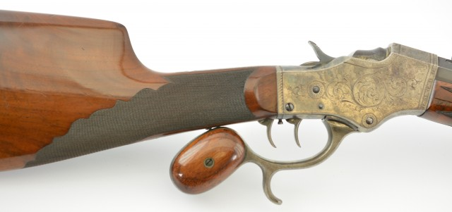 Stevens Model 51 Single – Shot Rifle by A.O. Zischang