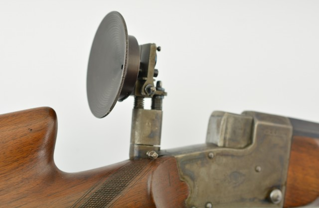 German Ideale System Martini Schuetzen Rifle