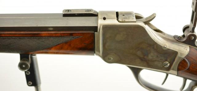 Antique Winchester High Wall Target Rifle Pope Barrel& Bullet Starter